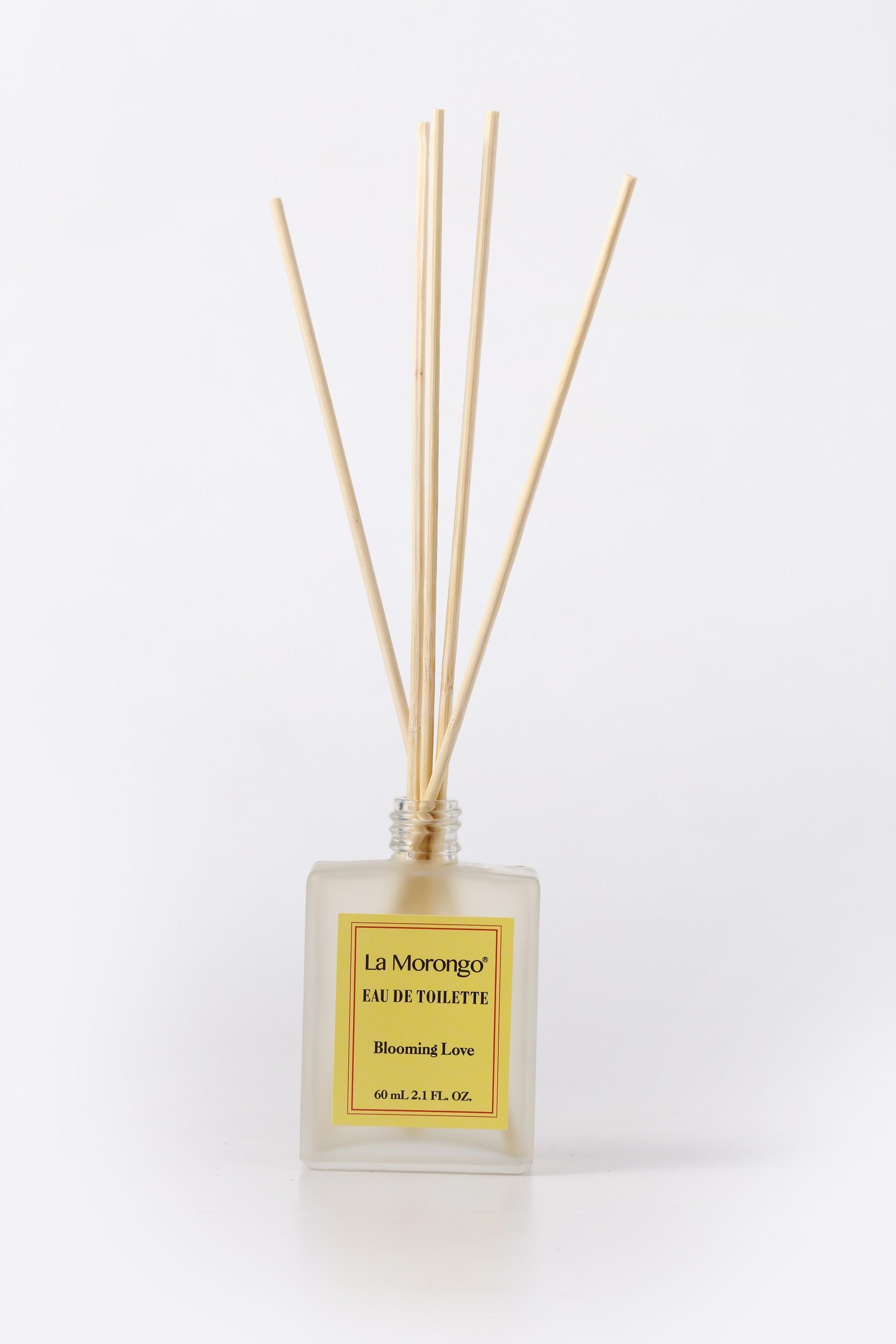 (法國樂木美品) 十瓶 10 bottle Blooming Love bamboo reed diffuser 黃標寵愛花香調蜂蜜桂花精油香氛噴霧擴香竹 60mL X10瓶