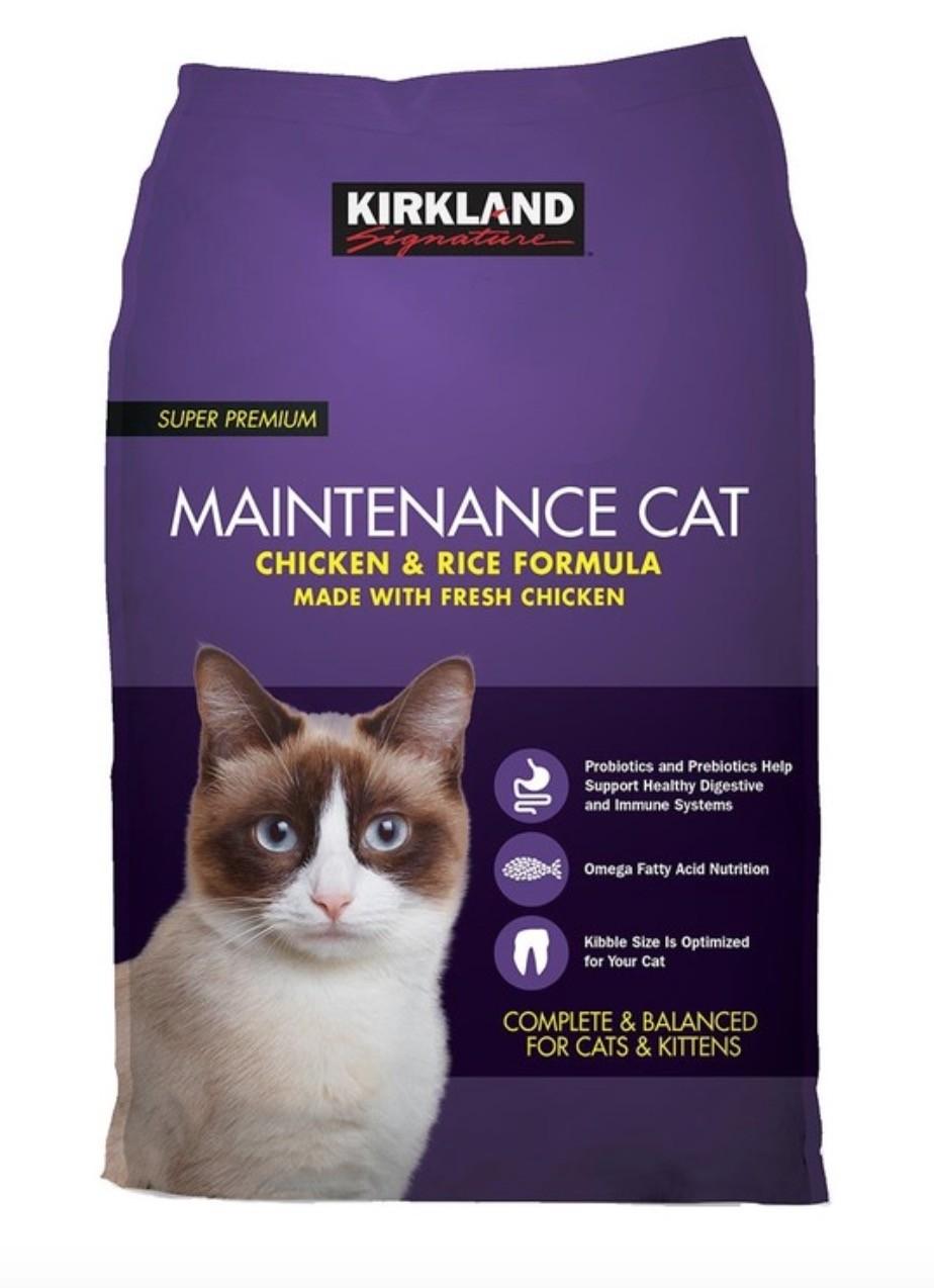 [寵物食品] Kirkland Signature 科克蘭 雞肉&米配方乾貓糧 11.34公斤 Kirkland Signature Chicken & Rice Dry Cat Food 11.34Kg