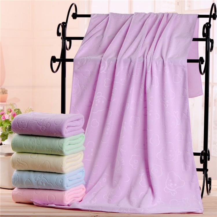 運動毛巾 浴巾 游泳 快乾 吸水 紫色