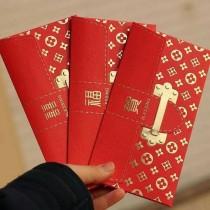 奢華燙金紅包袋(一組三款共18入) 奢華紅包袋 燙金紅包袋 燙金 奢華