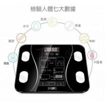電子LED體脂機 多功能體重計