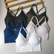 跟著Amy來運動吧 [大尺碼女孩也可以穿] 歐美流行款 設計款 大胸 美背 細肩帶 好穿 舒適 平時也可以穿 穩定性佳