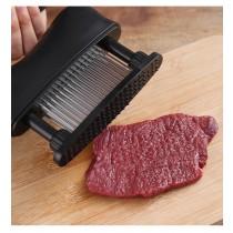 鬆肉器  鬆肉針 48針 敲肉 斷筋 扎孔 入味針 家用 居家 豬牛排 錘肉器 不銹鋼 打肉 工具 實用