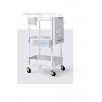 嬰兒 用品 置物架 三層 小推車 多層 多功能 帶輪 收納架 零食 儲物架 儲藏 收納車 家用 居家 實用