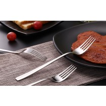 不銹鋼 牛排 海鮮 義大利麵 叉子 家用 主餐 西餐 叉套裝 水果叉 餐廳 高檔 餐具 野餐 兩入