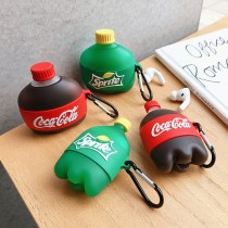 飲料 汽水 適用 蘋果 airpods pro 保護套 藍牙 無線 耳機 耳機殼 保護殼 保護套