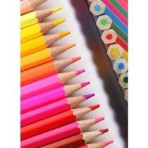 彩色鉛筆 水溶性彩鉛 畫筆 彩筆 專業畫畫 套装 手繪 成人 初學者 學生用 兒童 繪畫 水性款 美術用具 24色