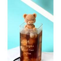 網红小熊冰塊模具 抖音同款 咖啡 飲料 奶茶 立體 小熊 [5隻]