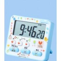 可靜音款  鬧鐘 計時器  讀書計時