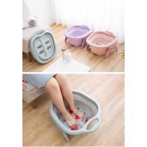 摺疊 泡腳桶 加厚保溫 足浴  按摩  居家摺疊泡腳桶  浴足