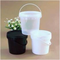可愛透明三色小水桶