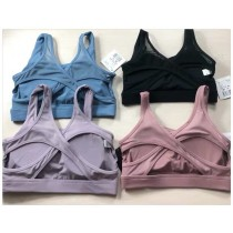 運動 內衣 胸墊 胸罩 比基尼 防震 後背 網紗 瑜伽 四色可選 健身房