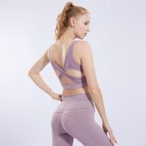 瑜珈服 運動套裝 女生 薄款 跑步衣 舒適 健身房 夏季  內衣  運動內衣 健身房