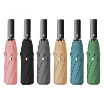全自動雨傘 男女通用 摺疊傘 復古 純色 雨傘 陽傘 雨傘