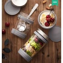 英國品牌 Kilner 早餐沙拉罐 隔夜燕麥杯 簡單 隨身攜帶 好攜帶 方便 沙拉 減重