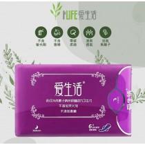 [超長] 衛生棉 夜用加長型 36公分 抗菌 負離子 暖宮 衛生棉 6片裝 大吸水量 密封性包裝