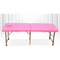 [美容用品] [今日下單送方枕頭一個]不鏽鋼 單槓版 基本款 多色可選 折疊式美容床 床 基本款 免運費