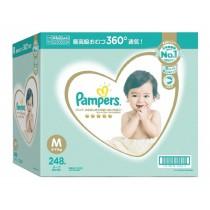日本原裝進口 幫寶適一級幫紙尿褲 M 號 248 片 - 日本境內版 Pampers Ichiban Diaper Size M 248 Counts
