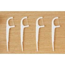 外銷日本 奈森克林 細滑牙線棒單支包 1080支 每支單獨包裝 Naisen Caring Ultra Fine Individual Dental Floss Picks 1080 Pieces