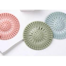 [3個裝不同色]廚房洗菜 排水槽 過濾網蓋 浴室 阻毛髮進入